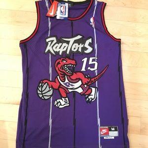 Vintage Vince Carter Raptors Jersey